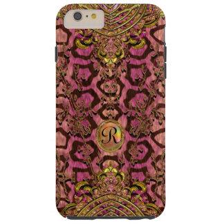Leopard Melantorey 6/6s Capetown IV Monogram Plus Tough iPhone 6 Plus Case