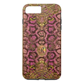 Leopard Melantorey VII Capetown IV Monogram Plus iPhone 8 Plus/7 Plus Case