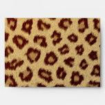 leopard modern fashionable envelopes