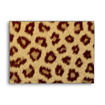 leopard modern fashionable envelopes