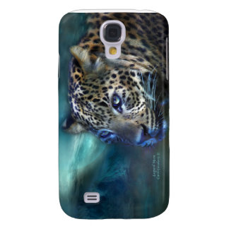 Leopard Moon Art Case for iPhone 3 Galaxy S4 Cases