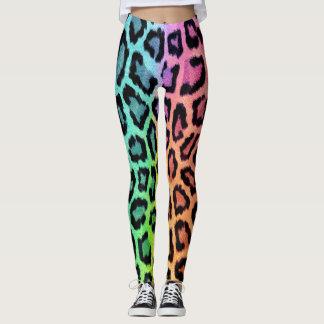 Leopard Multi Color Leggings