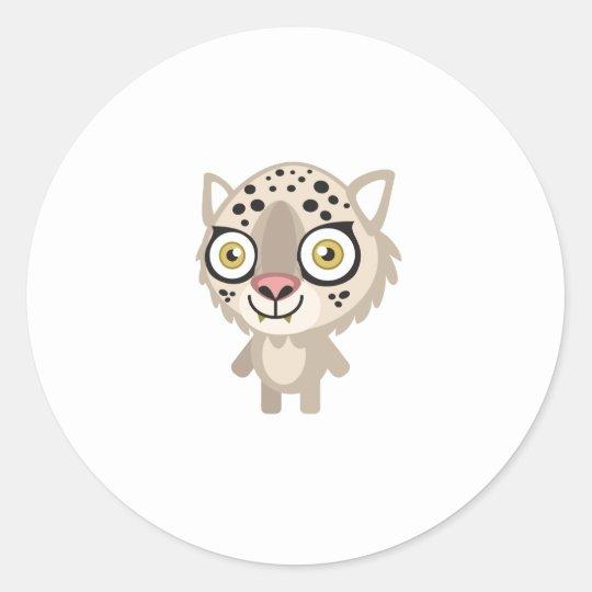 Leopard - My Conservation Park Classic Round Sticker