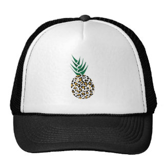 Leopard or Pineapple? Funny illusion picture Trucker Hat