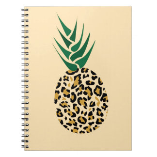 Leopard or Pineapple? Funny illusion picture Notebook