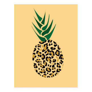 Leopard or Pineapple? Funny illusion picture Postcard