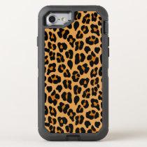Leopard OtterBox Defender iPhone 8/7 Case