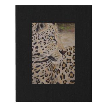 Art Themed leopard painting canvas print