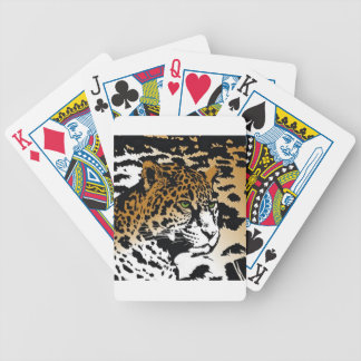 Leopard Panther Cat Animal Print pattern Deck Of Cards