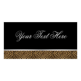 Leopard Party Banner Print