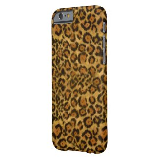 Leopard Pattern Barely There iPhone 6 Case