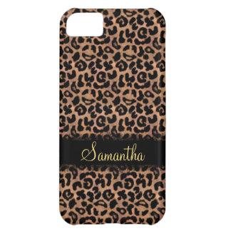 Leopard Pattern Custom Personaliz iPhone 5C Cover