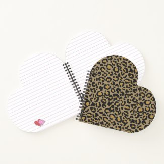 Leopard Pattern in Natural 2 Notebook
