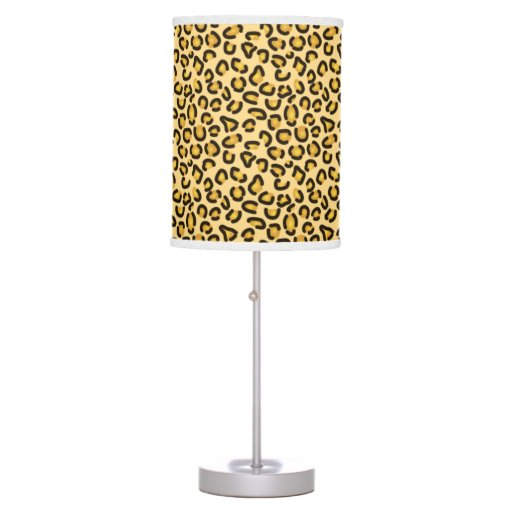 Leopard Pattern Print Jungle Lamp