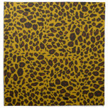 Leopard Pattern Printed Napkins
