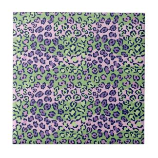 Leopard Pattern Tile