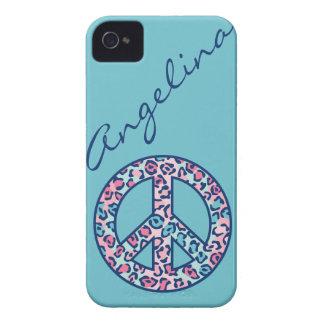 Leopard Peace iPhone 4 Case-Mate Case