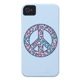 Leopard Peace Symbol Case-Mate iPhone 4 Case