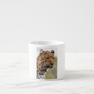 Leopard Photo Espresso Cup