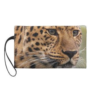 Leopard Photo Wristlet