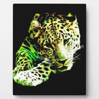 Leopard Plaque