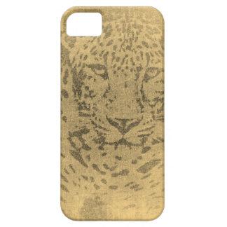 Leopard Portrait Vintage iPhone SE/5/5s Case