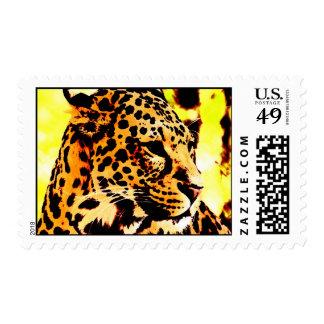 Leopard Postage