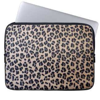 "Leopard Print 13"" Neoprene Laptop Sleeve"