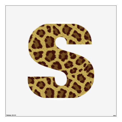cheetah decals for walls