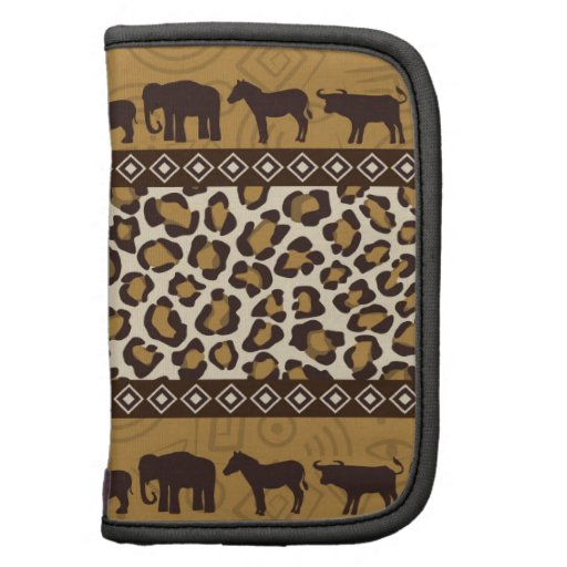 Leopard Print and African Animals Planners