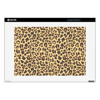 "Leopard Print Animal Skin Pattern 15"" Laptop Skin"