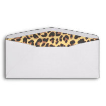 Leopard Print Animal Skin Pattern Envelope