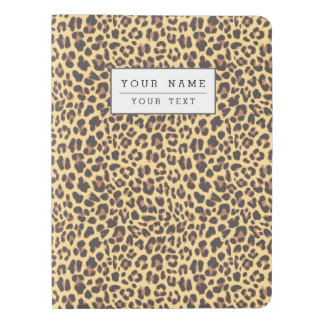 Leopard Print Animal Skin Pattern Extra Large Moleskine Notebook Cover With Notebook