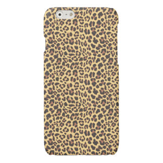 Leopard Print Animal Skin Pattern Glossy iPhone 6 Case
