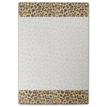 Leopard Print Animal Skin Pattern Post-it Notes