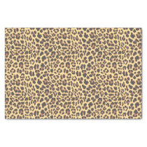 Leopard Print Animal Skin Pattern Tissue Paper