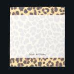 "Leopard Print Animal Skin Patterns Notepad<br><div class=""desc"">Leopard Print Animal Skin Patterns</div>"