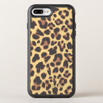 Leopard Print Animal Skin Patterns OtterBox Symmetry iPhone 8 Plus/7 Plus Case