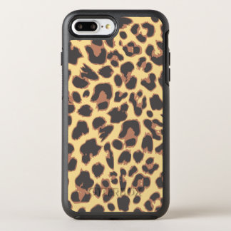 Leopard Print Animal Skin Patterns OtterBox Symmetry iPhone 8 Plus/7 Plus Case