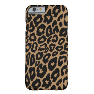 Leopard Print Background Changer Barely There iPhone 6 Case