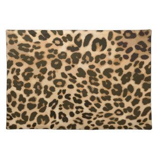 Leopard Print Background Place Mats