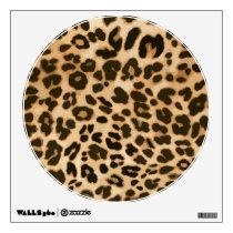 Leopard Print Background Wall Sticker