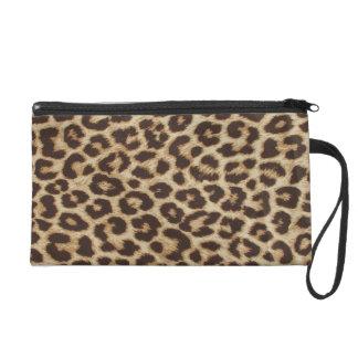 Leopard Print Bag Wristlet Purse