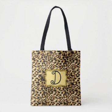 Christmas Themed Leopard Print Bag