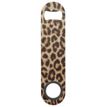 Leopard Print Bar Key