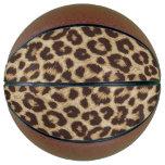 Leopard Print Basketball
