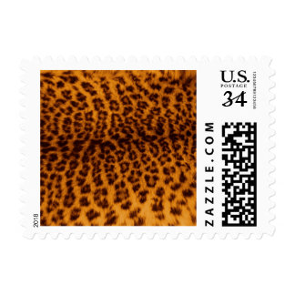 Leopard print black spotted Skin Texture Template Stamp