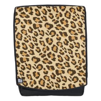 Leopard Print Boldface Backpack