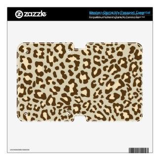 Leopard Print Brown, Tan, Peach WD My Passport Skin