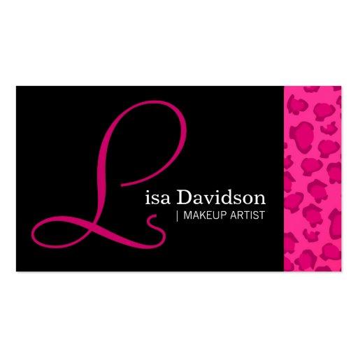 Large animal business card templates bizcardstudio leopard print business cards colourmoves Images
